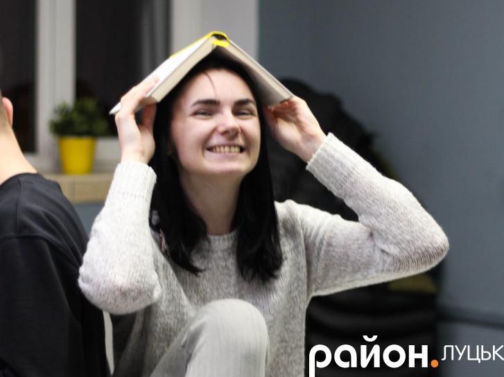 Вікторія Хірова, організаторка «Книгонутих»