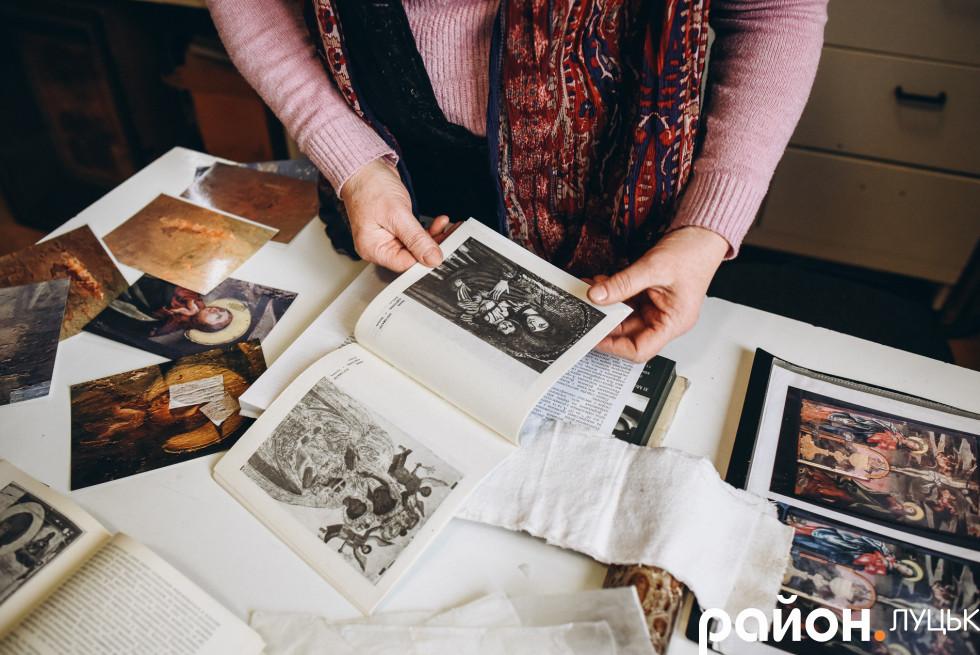 Лариса Обухович реставрувала вже більше 40 ікон