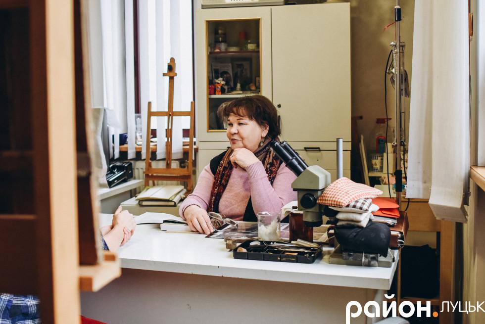 Лариса Обухович була першою реставраторкою ікон на Волині після розпаду СРСР