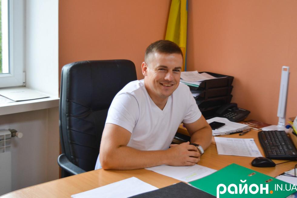 Завідувач центральної оперативної диспетчерської Станіслав Лінік