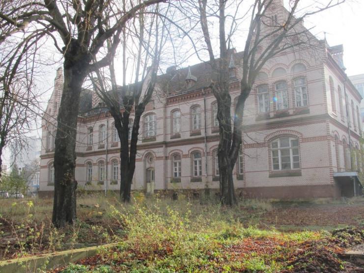 Колишній хоспіс і телеграфний завод у Львові