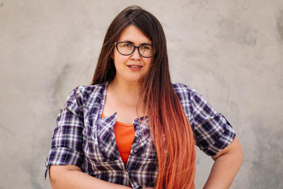 Віталіна Макарик - координаторка молодіжної сцени фестивалю