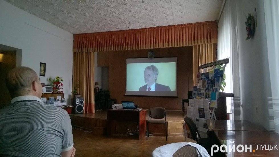 Показ фільму про окупацію Криму
