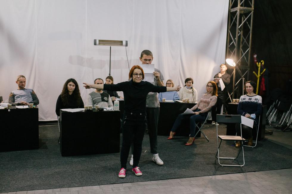 Репетиція гри-читки «2020: реальні історії примарного року»