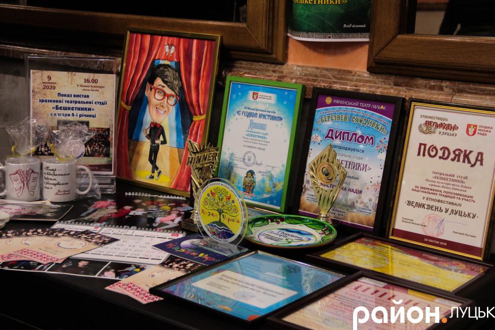 За п'ять років існування «Бешкетники» відзначилися на багатьох конкурсах та фестивалях